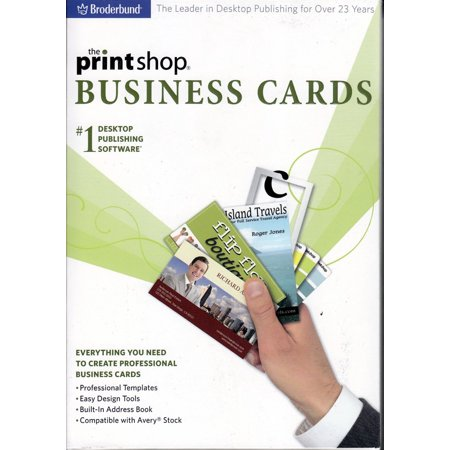 PC PRINTSHOP BUSINESS CARDS - Everything needed to create professional business cards at home in a snap