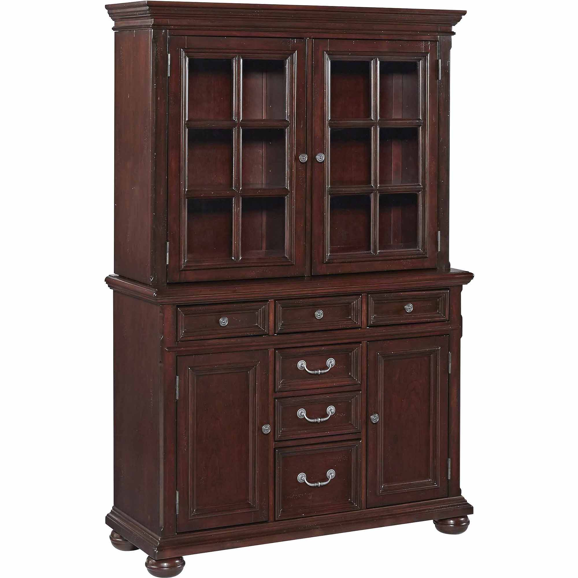 Home Styles Colonial Classic Buffet and Hutch