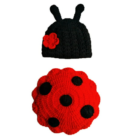 Outtop Newborn Baby Cute Insects Knit Crochet Clothes Costume Photo Photography Props