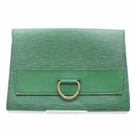 Louis Vuitton Green Epi Borneo Pochette Lena Fold Ring Clutch 868386