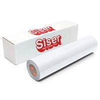 """Siser EasyWeed Heat Transfer Vinyl, 12"""" x 6' Roll - White"""