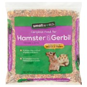Small World Complete Feed for Hamster & Gerbil, 5 lb