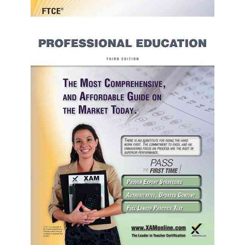 Ftce Professional Education Teacher Certification Study Guide Test Prep