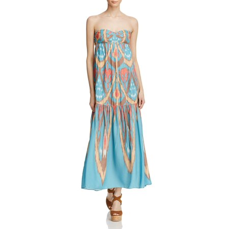 Free People Womens Printed Pull On Maxi Dress