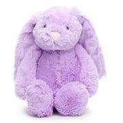 "gitzy purple floppy eared easter bunny rabbit plush 9"""