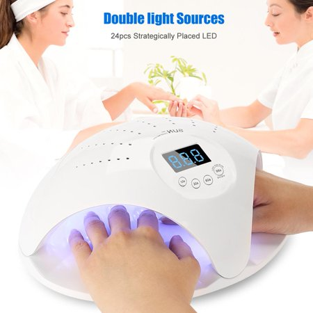High Polished - Dioche 48W UVLED Nail Lamp Nail Dryer Machine High Capacity Nail Dryer Curing for Nail Polish Tools, Nail Gel Polish Drying Machine,UVLED Nail Lamp