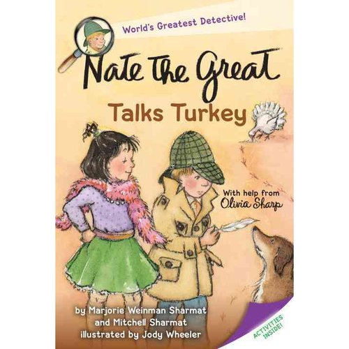 Nate the Great Talks Turkey: With Help from Olivia Sharp