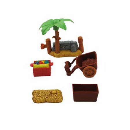Fisher Price Little People Deluxe Christmas Story - Replacement Parts Bag