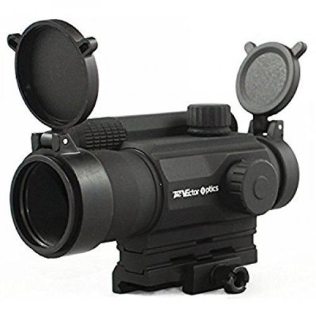 Tac Vector Optics Tempest 1x35 Multi Reticle Tactical Red Dot Scope