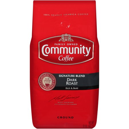 Community® Coffee Signature Blend Dark Roast Ground Coffee 32 oz. Bag