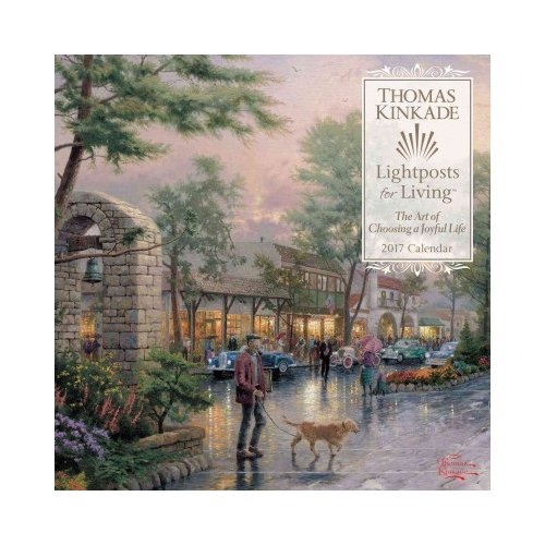 Thomas Kinkade~LIGHTPOSTS FOR LIVING~SIGNED 1ST/DJ~NICE COPY