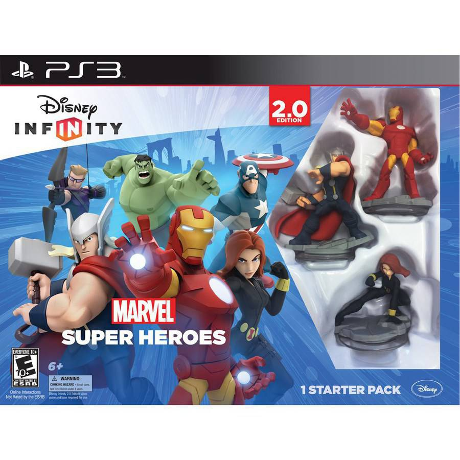 Disney Infinity: Marvel Super Heroes (2.0 Edition) Video Game Starter Pack (Playstation 3) by Avalanche Software