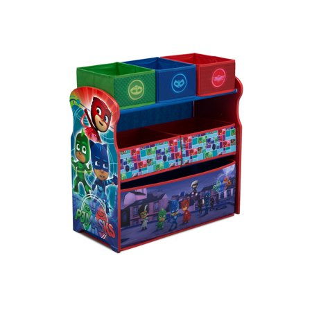 PJ Masks Multi-Bin Toy Organizer by Delta Children - Pj Shoe Store