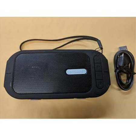 Refurbished Billboard Water-Resistant Bluetooth Wireless Speaker With Enhanced Bass and FM Radio Mode
