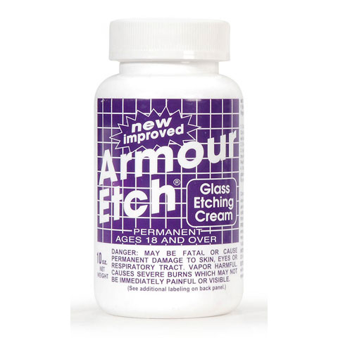 Armour Etch Etching Cream - 10 oz