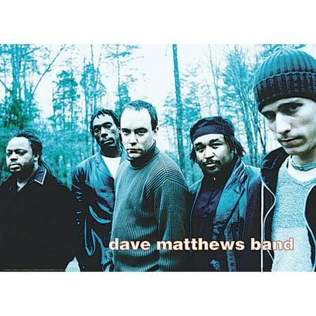 Dave Matthews Band Subway Poster