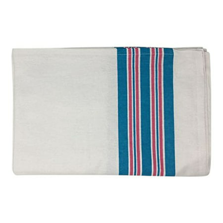 Personal Touch 100% Cotton, Baby Hospital Receiving Blankets, Swaddle Blankets, Warm And Cozy, 30x40, Stripe (Pack of 3)