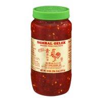 Huy Fong 18 oz Foods Sambal Oelek Ground Fresh Chili Paste