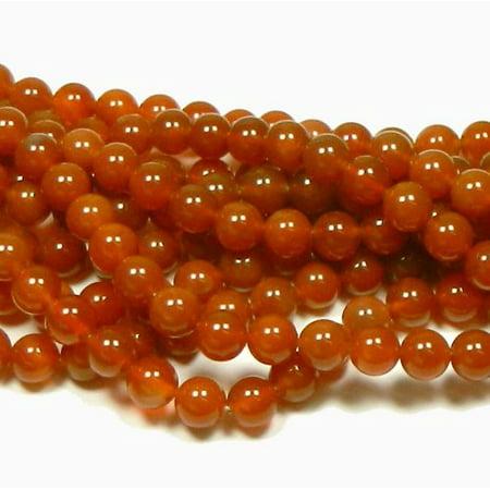 Carnelian Barrel - 12mm Carnelian Round, Loose Beads, 40cm 15 inch Stone