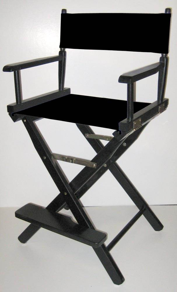 Folding Director S Style Chair W 24 Inch Seat Height