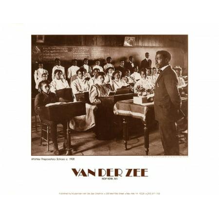 Whittier Preparatory School c 1908 Poster Print by James Van Der Zee (14 x 11) 11 X 14 Van