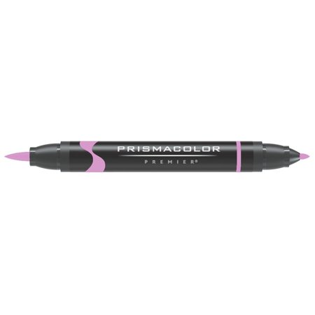 Mulberry Markers - Prismacolor Premier Art Marker - Brush-Fine Double-Ended Markers - Mulberry Light