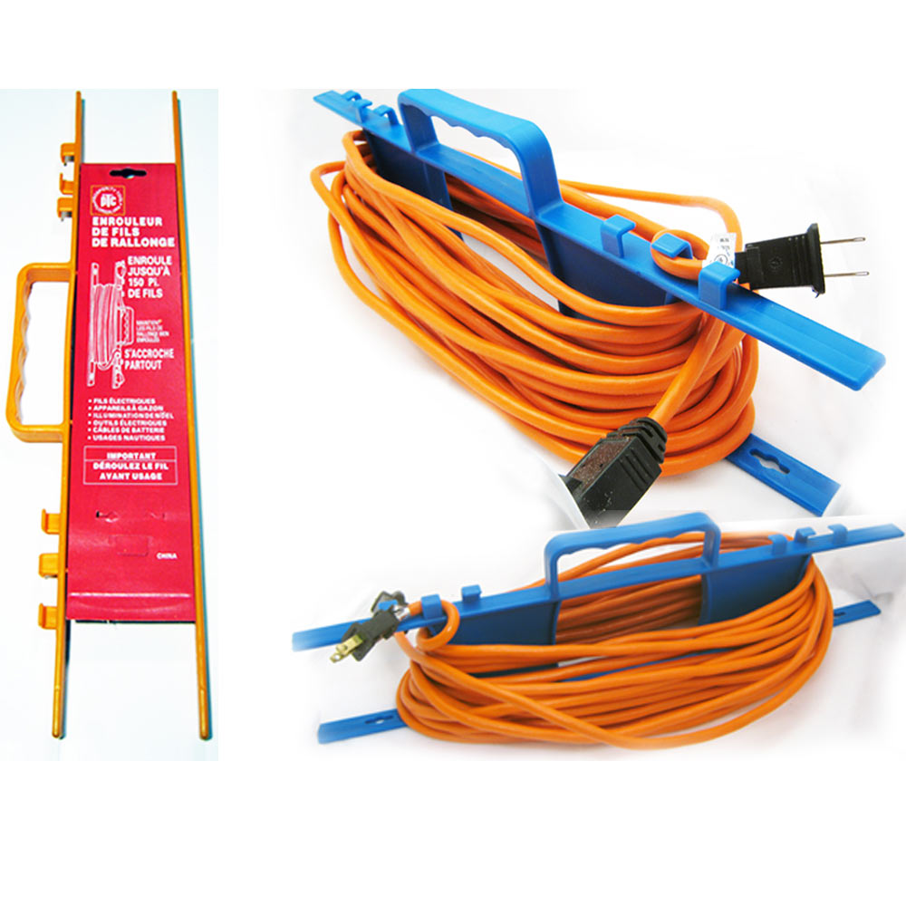 1 CABLE WIRE ORGANIZER EXTENSION ELECTRIC CORD HOLDER TIE