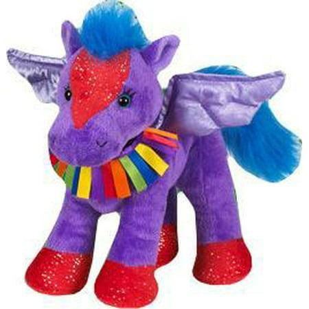 Webkinz Rainbow Pegasus Plush - Rainbow Pegasus