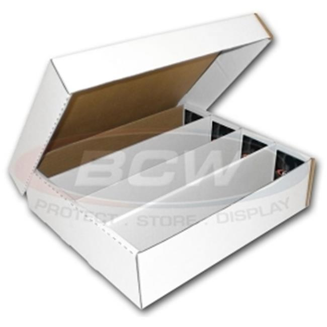 BCW Diversified BX-3200-B Cardboard - 3200 Count Storage Box Bundle of 25