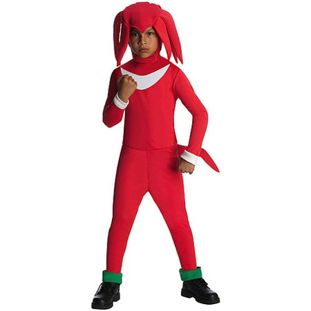 Sonic The Hedgehog Knuckles Child Halloween Costume - Sanic Costume