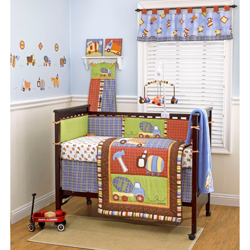 CoCaLo CoCo & Company Road Work Crib Bumper