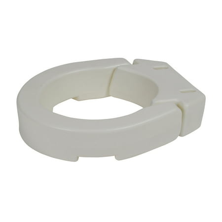 Drive Medical Hinged Toilet Seat Riser Standard Seat