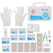 OTVIAP Emergency Care Kit,Hard Case Emergency Aid Kit Home Outdoor Camping Hunting Sports Injury Emergency Treatment Tools,Emergency Survival Bag