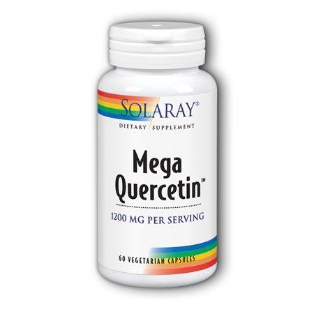 Solaray Mega Quercetin 1200 mg - 60 Vegetarian (Vegetarian Mega Vitamin)