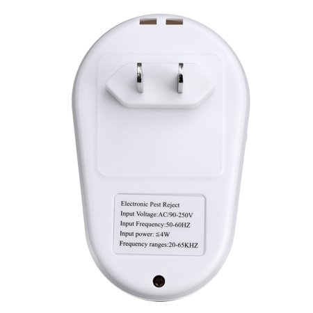 1/6PCS Ultrasonic Pest Repeller Plug In Pest Rodent Mouse Mice Rat Spider Insect - image 1 de 10