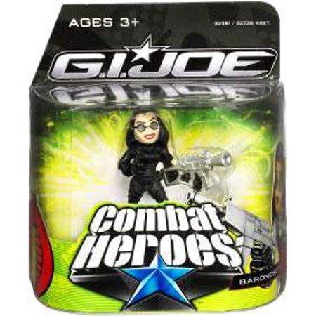 GI Joe Combat Heroes Baroness Mini Figure