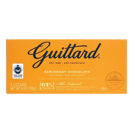 Guittard Gourmet Baking Chocolate, 64% Cocoa, Semisweet, 2 Oz, 12 Ct (Guittard Baking Cocoa)