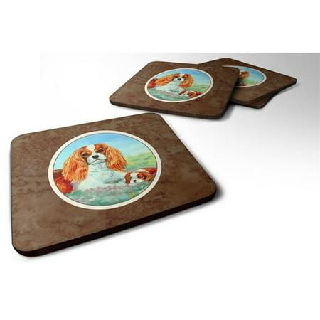 Cavalier Spaniel Mommas Love Foam Coaster, Set of 4 - image 1 de 1