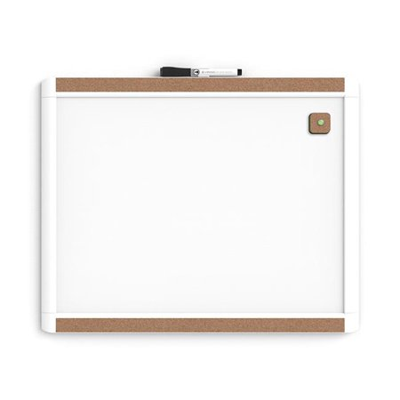 UBrands Pin-It Magnetic Dry Erase Board  20 x 16 Inches  White Frame - image 1 de 1