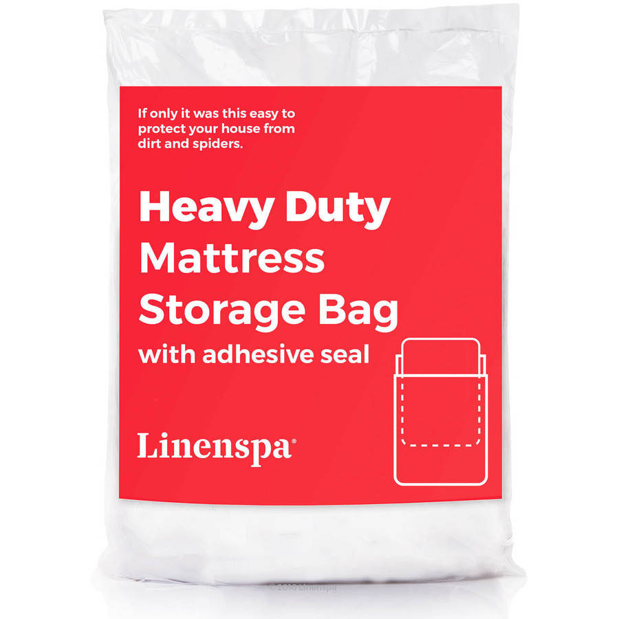 Sealable Mattress Bag Linenspa Extra Heavy Duty Sealable 6 mil Mattress Bag ...