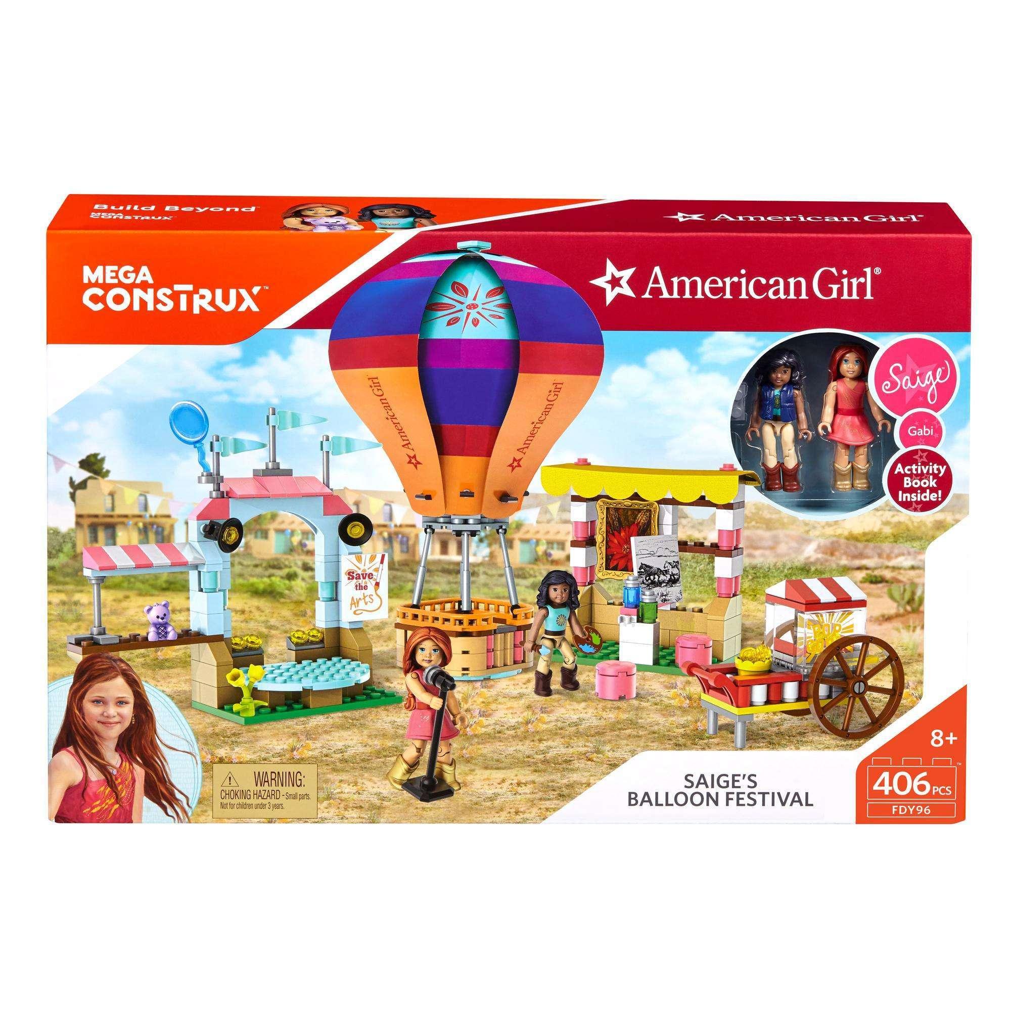 Mega Construx American Girl Saige's Balloon Construction Set
