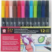 Koi Coloring Brush 12-Pen Set
