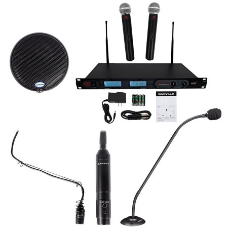 Piano Microphone System - Church Sound System w/Choir Microphone+20