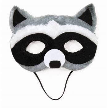 HALF MASK - RACCOON (Raccoon Mask)