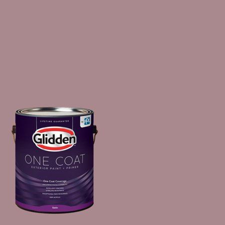 Coffee Rose Glidden One Coat Exterior Paint and Primer