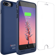 Alpatronix BX190plus 5000mAh Battery Charging Case for iPhone 8 Plus (5.5-inch) with Qi Wireless Charging