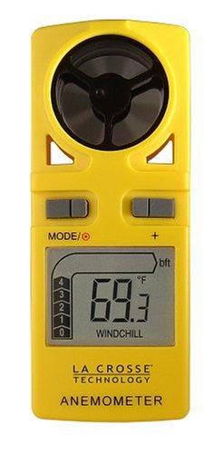 La Crosse Technology LCREA3010UY La Crosse Technology EA-3010U Handheld Travel Anemometer... by La Crosse Technology