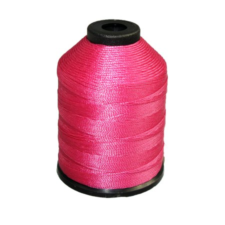Tex 70 Premium Bonded Nylon Sewing Thread #69 for Leather - Fuchsia 69 Bonded Nylon Thread