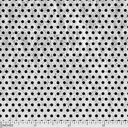 """Galvanized Steel Perforated Sheet, Thickness: 0.034 (22 ga.), Width: 24"""", Length: 24"""", Hole Size: 0.093 (3/32""""), Staggered 0.188 (3/16"""")"""