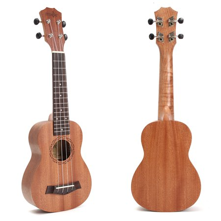 Professional 21 Inch Sapele Acoustic Concert Ukulele Hawaii Guitar Musical instruments 21 Inch Acoustic Soprano Hawaii Sapele Ukulele Musical Instrument Birthday Gift for